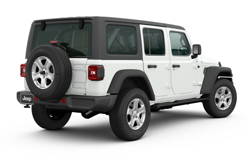 New 2020 JEEP Wrangler WRANGLER UNLIMITED SPORT S 4X4