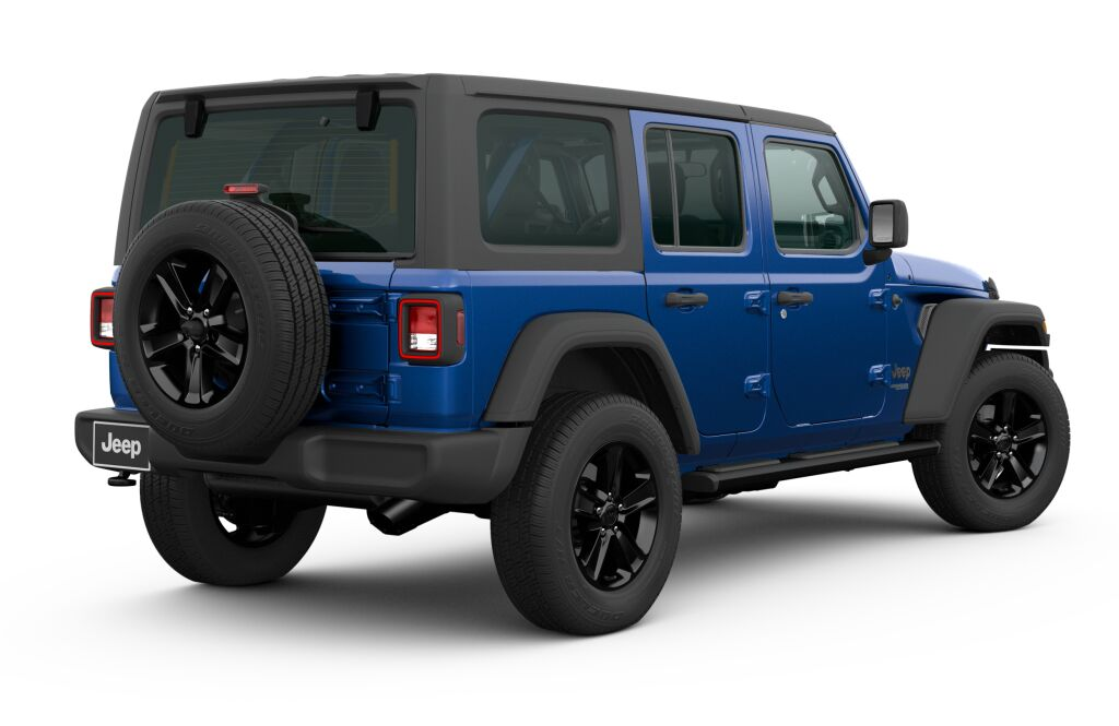 New 2020 JEEP Wrangler WRANGLER UNLIMITED SPORT ALTITUDE 4X4