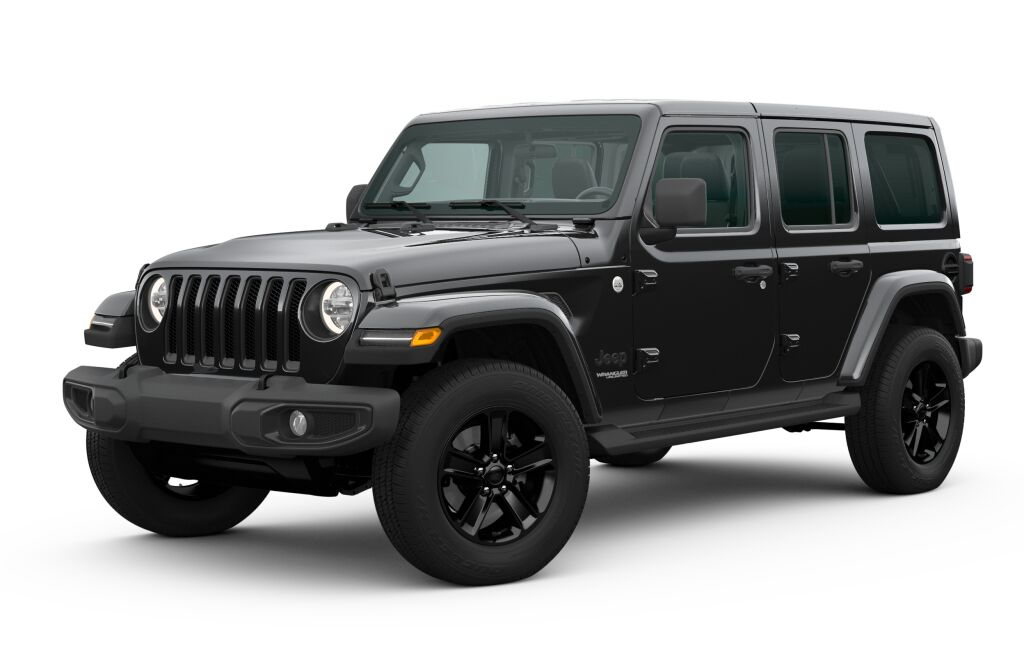 New 2020 JEEP Wrangler WRANGLER UNLIMITED SAHARA ALTITUDE 4X4