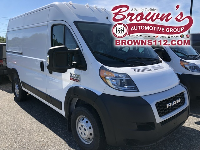 NEW 2019 RAM PROMASTER 2500 CARGO VAN HIGH ROOF 136