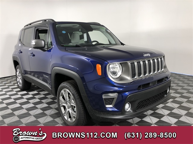 New 2020 JEEP Renegade Limited