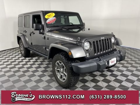 PRE-OWNED 2017 JEEP WRANGLER UNLIMITED RUBICON 4X4