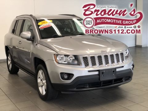 Certified Pre-Owned 2016 Jeep Compass Latitude 4X4 CERTIFIED