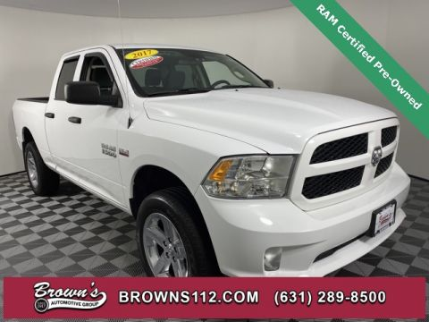 CERTIFIED PRE-OWNED 2017 RAM 1500 EXPRESS QUAD CAB HEMI