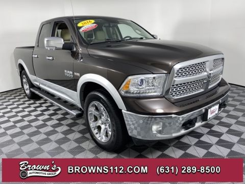 PRE-OWNED 2016 RAM RAM 1500 LARAMIE LEATHER NAV HEATED SEATS