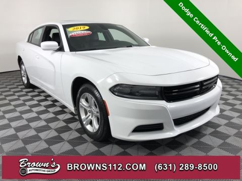 CERTIFIED PRE-OWNED 2019 DODGE CHARGER SXT LEATHER INTERIOR GROUP