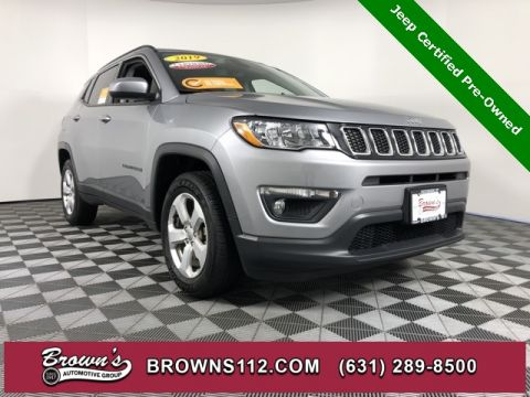 CERTIFIED PRE-OWNED 2019 JEEP COMPASS LATITUDE LOW MILES ONE OWNER