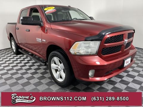 PRE-OWNED 2015 RAM RAM 1500 EXPRESS 4X4 CLEAN LOW MILEAGE