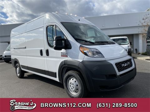 "NEW 2020 RAM PROMASTER 2500 CARGO VAN HIGH ROOF 159"" WB"