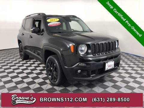 CERTIFIED PRE-OWNED 2017 JEEP RENEGADE LATITUDE ALTITUDE