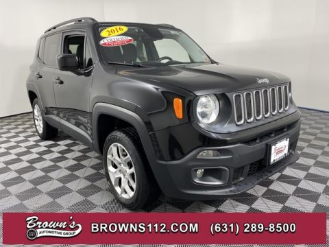 CERTIFIED PRE-OWNED 2016 JEEP RENEGADE LATITUDE ONE OWNER